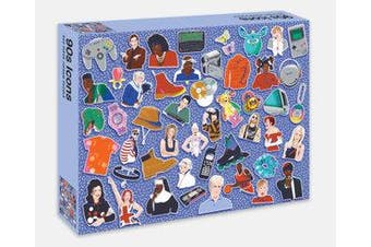 90s Icons - 500 piece jigsaw puzzle
