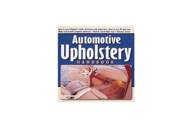 Automotive Upholstery Handbook