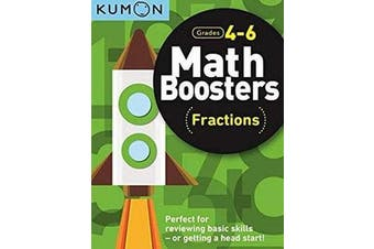 Math Boosters - Fractions (Grades 4-6)