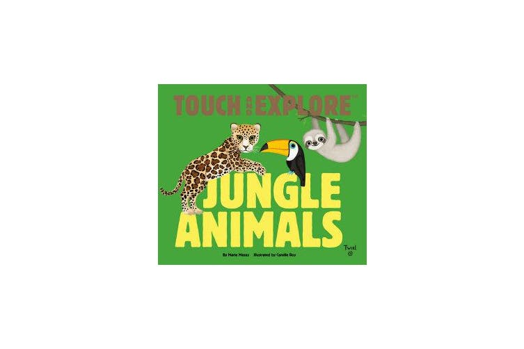 Touch and Explore - Jungle Animals