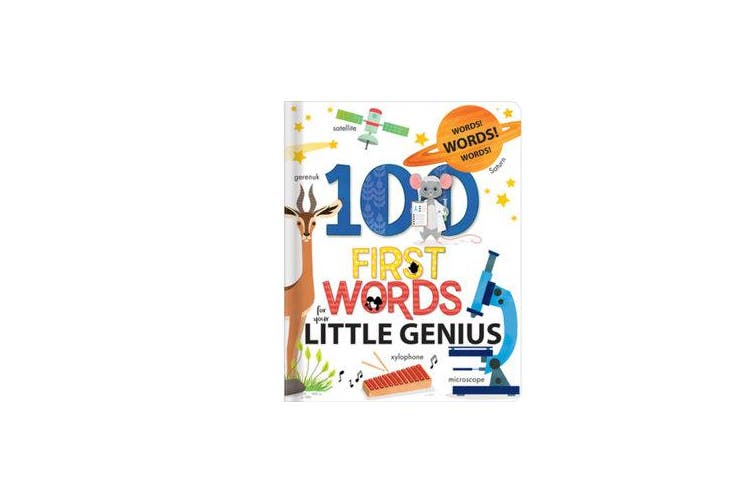 100 First Words for Your Little Genius - A Carry Along Book
