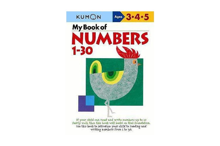 My Book of Numbers, 1-30