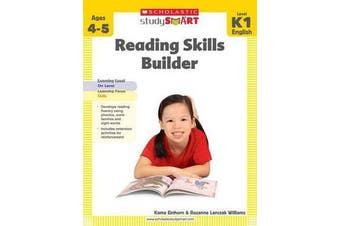 Study Smart - Reading Skills Builder Level K1