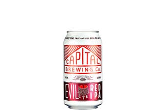 Capital Brewing Co Evil Eye Red IPA 375mL Case of 24