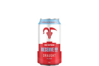 Bad Shepherd Brewing Co Reserve Rd Draught 375mL Case of 24