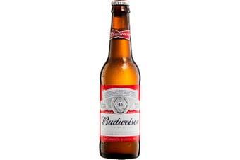 Budweiser Lager Beer 330mL Case of 24