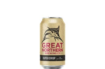 Great Northern Brewing Co Super Crisp Lager 375mL Case of 30