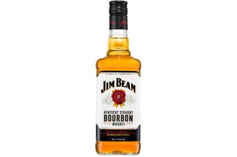 Jim Beam White Label 700mL Bottle