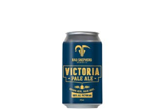 Bad Shepherd Brewing Co Victoria Pale Ale 375mL Case of 24