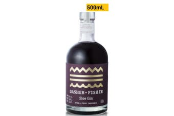 Southern Wild Distillery Dasher + Fisher Sloe Gin (Batch #2) 500mL Bottle