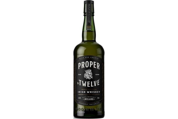 Proper No. Twelve  Triple Distilled Irish Whiskey 700mL Bottle