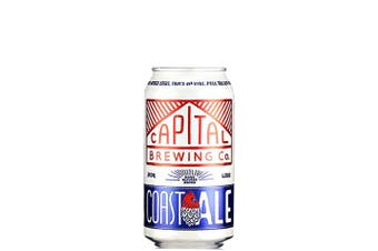 Capital Brewing Co Coast Ale 375mL Cans 375mL Case of 24