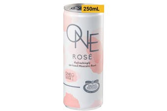 Brown Brothers ONE Moscato Rose 250mL Case of 24