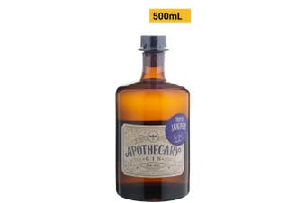 Killara Distillery Apothecary Gin Triple Juniper 500mL Bottle