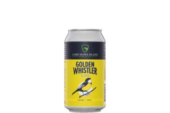 Lord Howe Island Brewing Co Golden Whistler Lager 375mL Case of 24