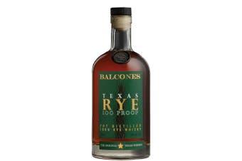Balcones Distilling Texas Rye 100 Proof 700mL Bottle