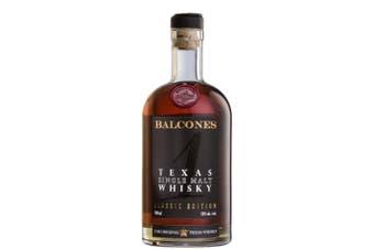 Balcones Distilling Texas Single Malt Whisky 700mL Bottle