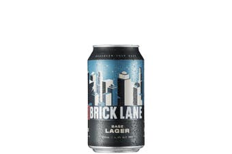 Brick Lane Brewing Co Base Lager 355mL Case of 24