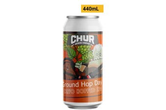 Chur Brewing Company Ground Hop Day 440mL Case of 24