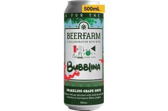 Beerfarm x Tallboy & Moose Bubblina 500mL Case of 16