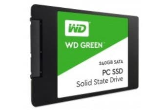 WD SSD Green 2.5 Form Factor Solid State Drive SATA Interface 240GB CSSD Platform