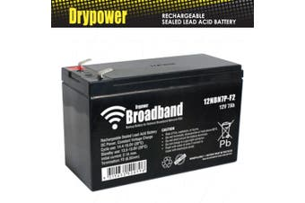Drypower Broaband 12V 7Ah Sealed Lead Acid Battery