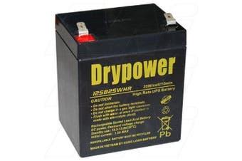 Drypower 12SB25WHR 12V 5Ah SLA Battery for Standby UPS.Suit 12FGH23 12FGHL22