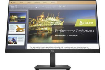 HP P224 -5QG34AA- 21.5 FHD LED 5ms 60Hz HDMI/DisplayPort/VGA/VESA