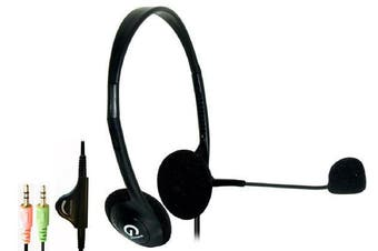 Shintaro Light Weight Headset with Microphone Ideal for Hands free Communication
