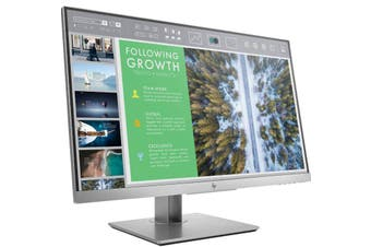 HP E243 23.8Inch IPS FHD Monitor 5ms VGA DP HDMI USB3.0 Pivot Height Adjustable