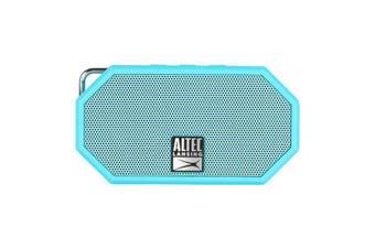 Altec Lansing Mini H203 Aqua Blue Everything Rugged Waterproof BluetoothSpeaker