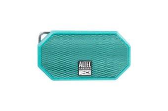 Altec Lansing H20 3 Mint Green Rugged Waterproof Bluetooth Speaker 6 hrs Battery