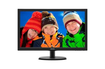 "Philips 23.6"" Led Monitor VGA DVI-D HDMI Speaker"
