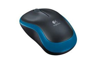 Logitech Reliable Wireless Mouse M185 Blue Nano Receiver 3 Years Warranty