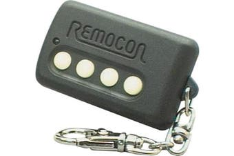 Remocon Learning UHF Remote Control Car Garage Alarm Includes Alkaline Battery