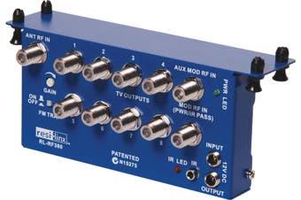 Resi-Linx RL-RF380 Video I/R Hub 2 Input & 8 Output