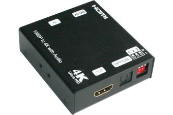 HDMI 4k/2k Scaler With Audio Extractor