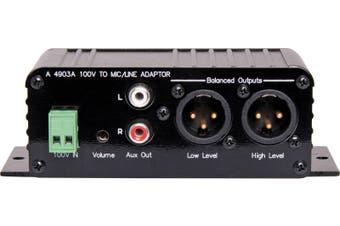 REDBACK Volume Control 100V Line to Low Level Adaptor