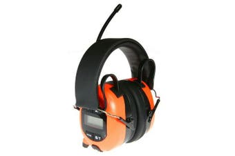 Bullant Bluetooth Worksafe Earmuffs Bullant With LCD Display Built In Microphone