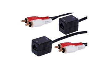 Cat5 Stereo Audio  Extender Requires UTP cable Up to 75m