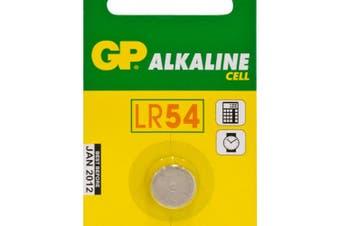LR54 Button Cell Alkaline Gp A89 Pk1