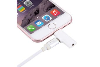 Apple Lightning to 3.5mm Sterio Audio Adaptors to convert the Lightning port on device