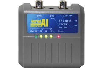 Aerial Industries TV Antenna Portable Signal Strength Finder Meter Caravan AITVF
