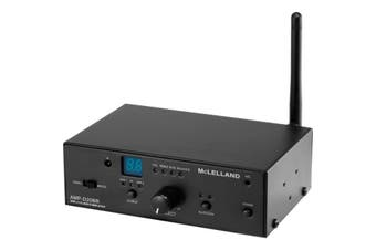 Mclelland Class D Bluetooth Amplifier 20W With RS232  2 Line Inputs