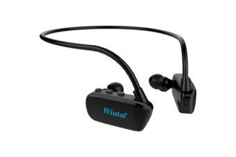 8Gb Bluetooth Aqua Buds Waterproof Black