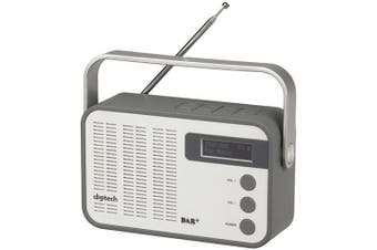 DIGITECH DAB FM Radio with Bluetooth Technology USB MicroSD card MP3 playback