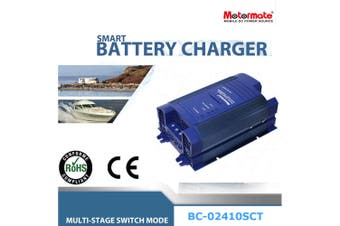 MotormateBC-02410SCTAC-DC 24V 10A Power Supply fully Automatic Battery Charger