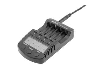 DOSS NI-MH/CD 4X AA/AAA CHARGER  BATTERY CHARGER WITH USB PORT
