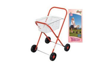 Orbit Kids Metal Trolley solid wheels built rugged metal frame powder coated