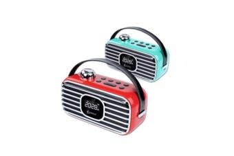 Sansai Classical wireless Bluetooth Speaker remote control Fm Radio Alaram Clock